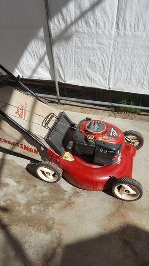 Craftsman push lawn mower for Sale in San Bernardino, CA