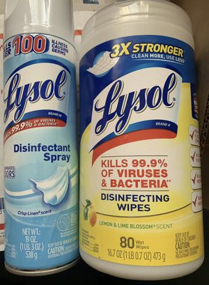 Lysol combo for Sale in Jamaica, NY