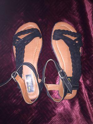 Black sandals for Sale in Pasco, WA