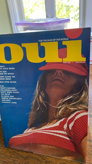 Oui adult magazine 25 issues for Sale in Des Plaines, IL