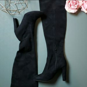 Wild Diva Lounge Size 6.5 Suede Heeled Boots for Sale in Redmond, WA