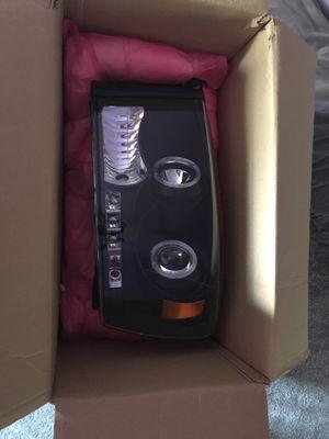 Spyder Halo LED headlights and fog light set for 04-08 Dodge Ram for Sale in Baltimore, MD