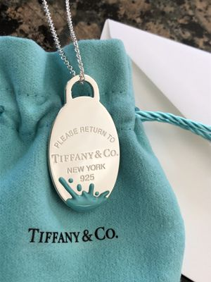 TIFFANY & CO COLOR SPLASH PENDANT NECKLACE **BRAND NEW for Sale in Rocky River, OH