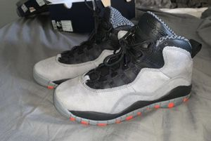 Jordan 10 Retro Cool Grey size 4.5 youth, 6.5 women's $30 today only for Sale in Rancho Cucamonga, CA