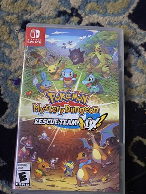 Pokemon Mystery Dungeon Rescue Team DX Nintendo Switch like new!! 40$ for Sale in Medford, OR