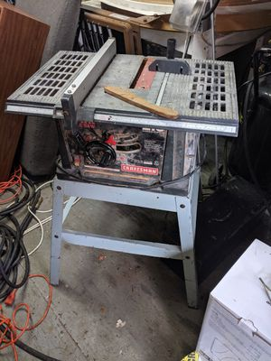 Craftsman table saw for Sale in Tampa, FL