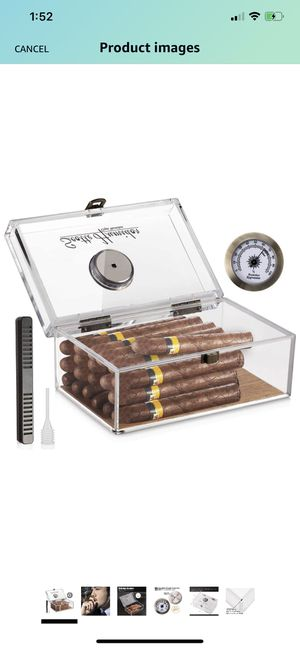 Cigar humidor box for Sale in Allen, TX