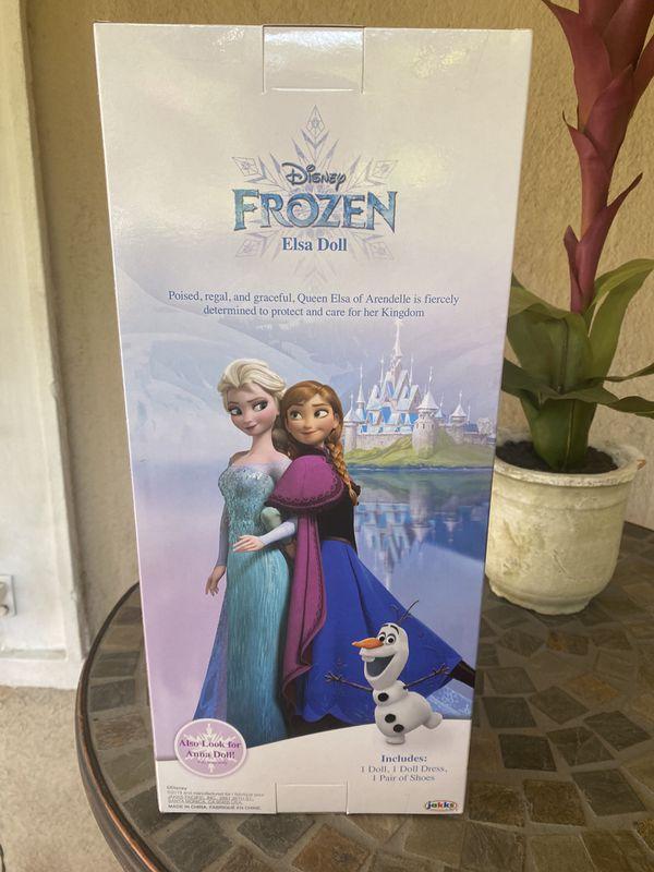 Disney Frozen Elsa & Disney Princess Repunzel Doll