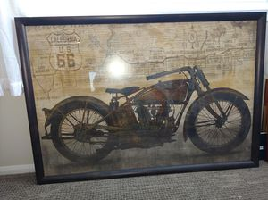 Motorcycle picture width 57 inch height 39in for sale for $225 for Sale in Murrieta, CA