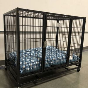 Brand new HD dog pet kennel cage crate with washable cushion in factory sealed box🐶 see dimensions in second picture🇺🇸 Soft on Paws🐾 for Sale in Peoria, AZ