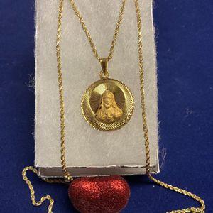 Oro 14K Cadena Y Medalla for Sale in Chicago, IL