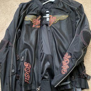 Harley Davidson Biker Jacket size Medium for Sale in Randallstown, MD