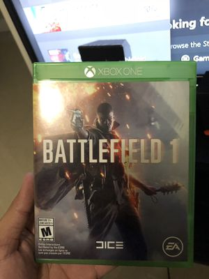 Xbox one battle field 1, call of dury , nba live 15 for Sale in Hialeah, FL