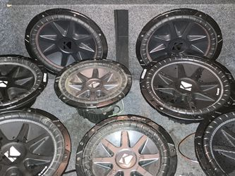 Kickers Subwoofers for Sale in Houston,  TX
