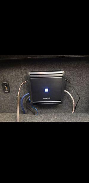Alpine 500.1 Amplifier for Sale in Turlock, CA