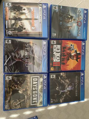 PS4 games for Sale in Stafford, VA
