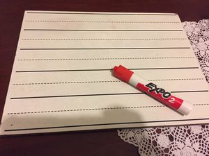 Kids Whiteboard and expo marker for Sale in Parkland, WA