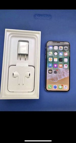 iPhone X brand new 64 gig 600$ for Sale in Baltimore, MD