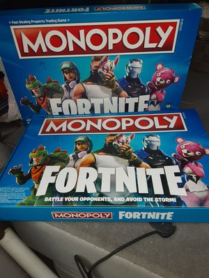 Monopoly fortnite for Sale in Boise, ID