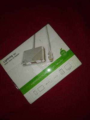 Lightning to HDMI/VGA/AV Adapter for Sale in Columbus, OH