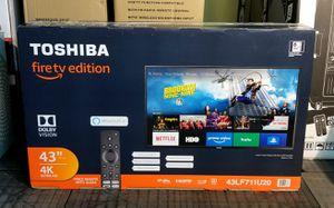 "43"" Toshiba TV. Smart TV. 4K. Fire TV edition. for Sale in Doral, FL"
