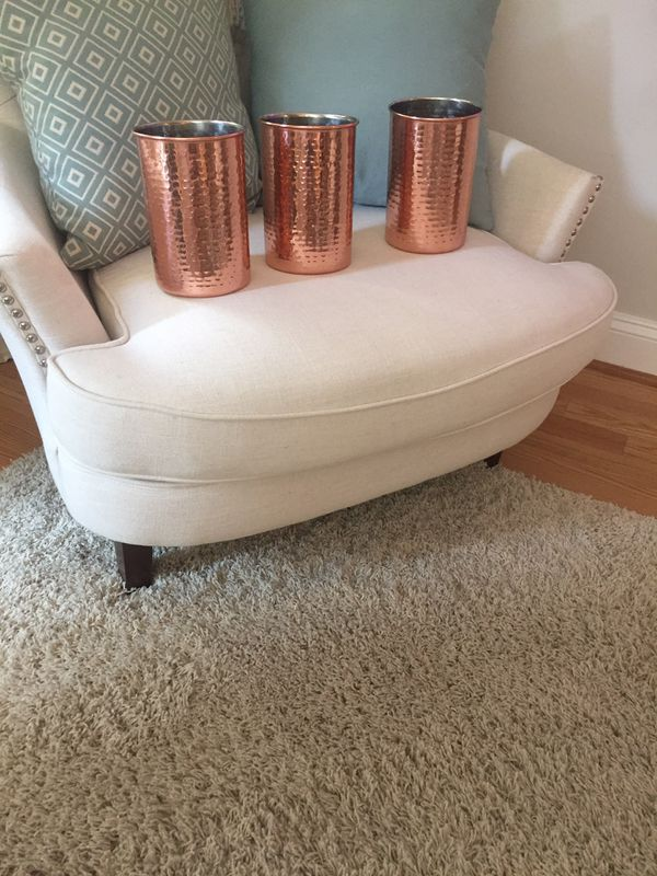 Three Copper Containers