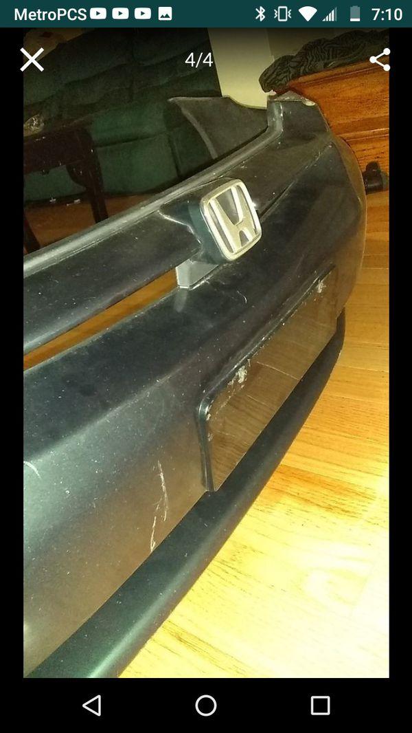 2000 Honda Accord front bumper