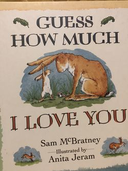 Guess How Much I Love You Hardcover Baby / Children Book for Sale in Smyrna,  TN