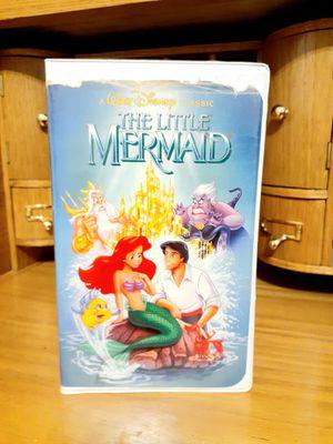 Disney's Black Diamond Little Mermaid VHS movie (Banned Cover Art) for Sale in Modesto, CA