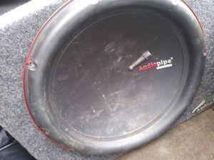 Audio Pipe Speaker for Sale in Paterson, NJ