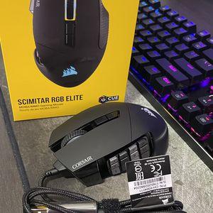 Corsair Scimitar Elite Gaming Mouse for Sale in Miami, FL