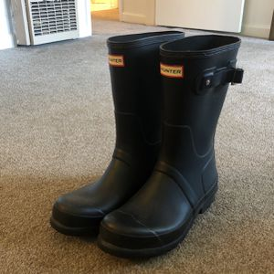 Rain Boots Hunters Size 10 for Sale in Beverly Hills, CA