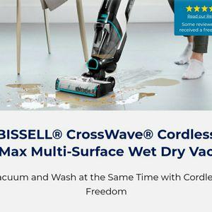 Bissell Crosswave Cordless Max Floor Cleaner Vacuum / Mop for Sale in Eastlake, OH