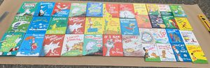 37 Excellent condition Dr Seuss Books, 21 are large hardback versions, most books never opened!! for Sale in Lake Tapps, WA