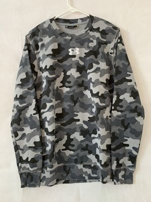 Under Armour Boy's Rival Camo Sweatshirt. SM Loose for Sale in Port St. Lucie, FL