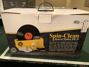 Record LP Album Spin-Cleaner Washer MK II with all accessories. for Sale in North Potomac, MD