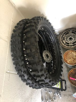 Dunlop d756 front and rear for Sale in Union Park, FL
