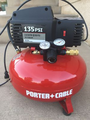 Air compressor 135 PSI 6 gallons for Sale in Colorado Springs, CO