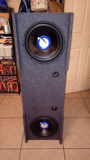 12s Subwoofers 1500 watts for Sale in Mesa, AZ