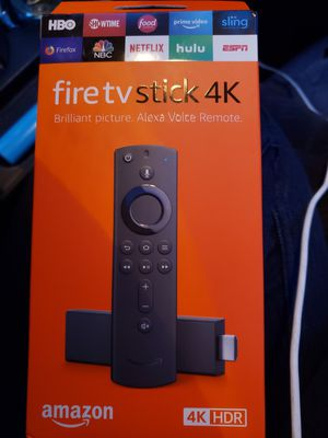 Brand new fire tv stick 4k hdr for Sale in Kirkland, WA