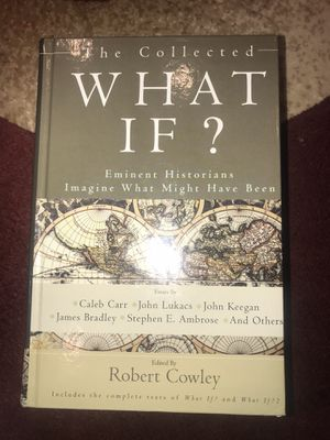 What If? Book by Robert Cowley for Sale in Chicago, IL