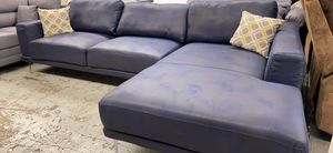 New ink blue sectional couch for Sale in Anaheim, CA