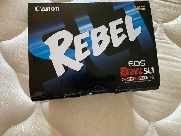 Cannon Rebel DSLR Camera