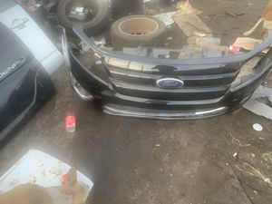 Fusion Front bumper with grille and fog lights complete will work for 2010-2011-2012 for Sale in Dearborn, MI