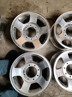 "17"" Rims 8 Lug Ford Excursion F250 F350 Utility Truck 8x170, Mm for Sale in Riverside,  CA"