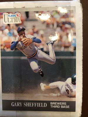 1991 Fleer Ultra baseball card set for Sale in Hillsboro, OR