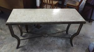 Marble Top Side Table for Sale in Fort Lauderdale, FL