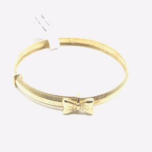 10Kt gold baby bracelet with a bow available on special offer for Sale in Indianapolis, IN