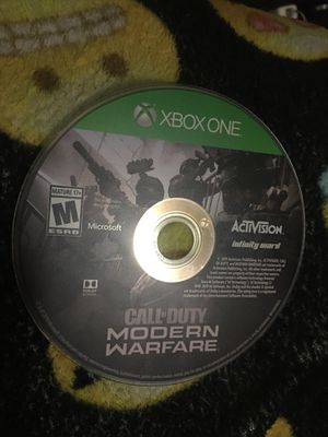 Modern warfare for Xbox for Sale in La Puente, CA
