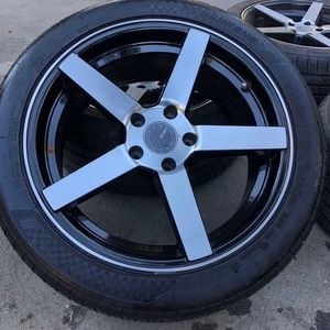Size 18 Rims With Tires for Sale in San Jose, CA